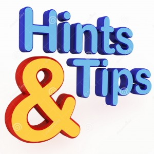 http://www.dreamstime.com/stock-photography-hints-tips-image24245612